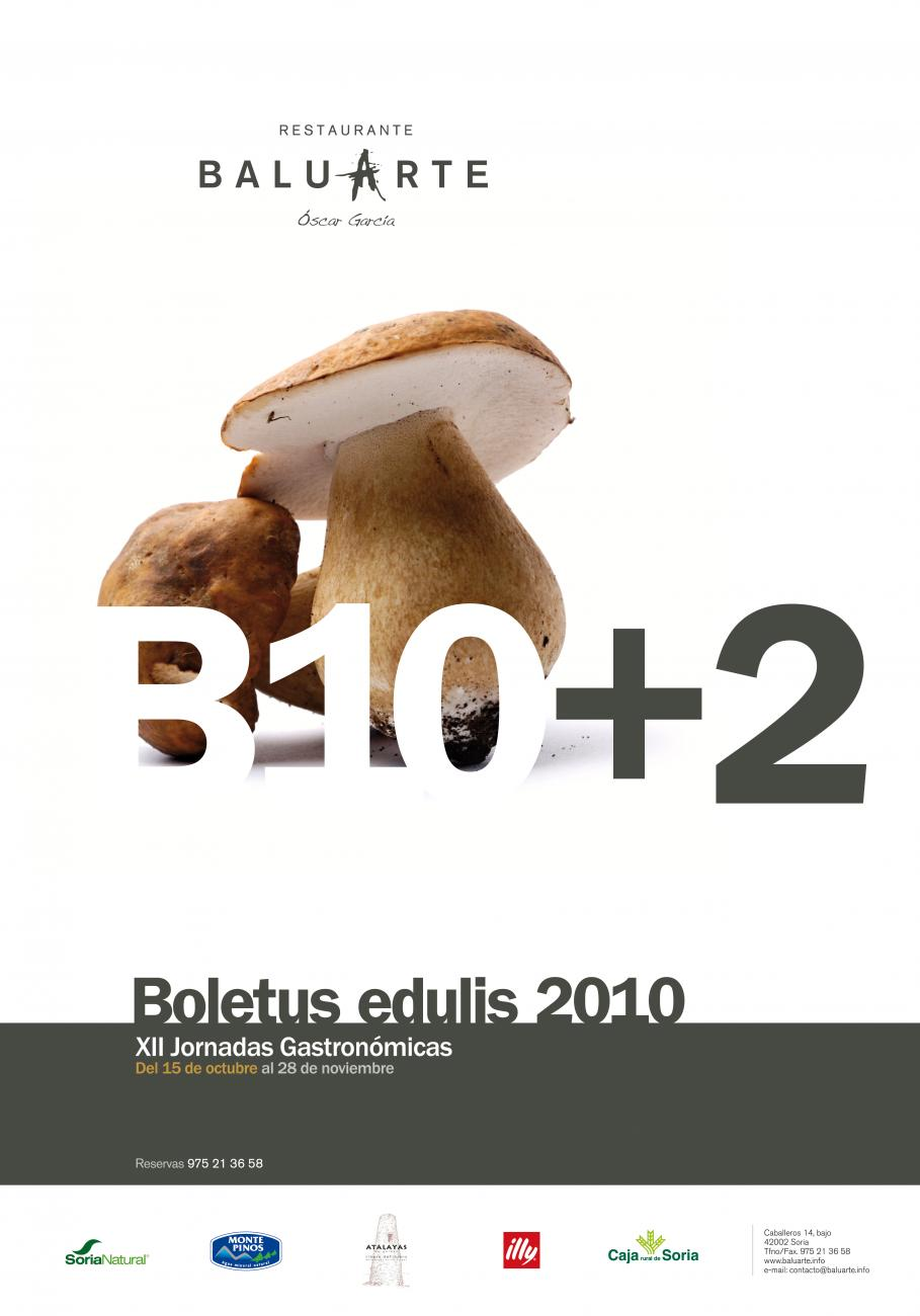 Menú de boletus 2010