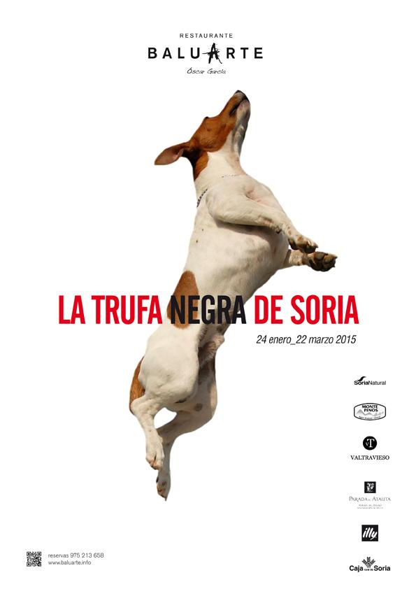 Engranaje de sabores en el V Menú de la Trufa Negra de Soria